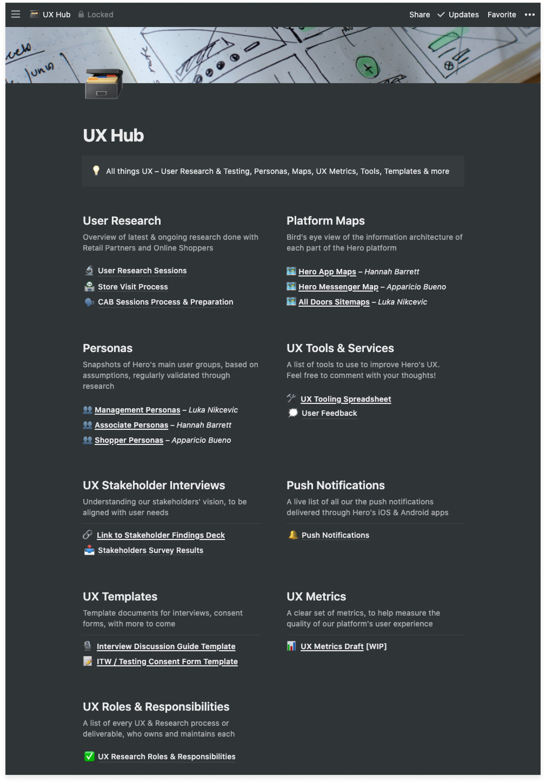 7.Hero UX Hub